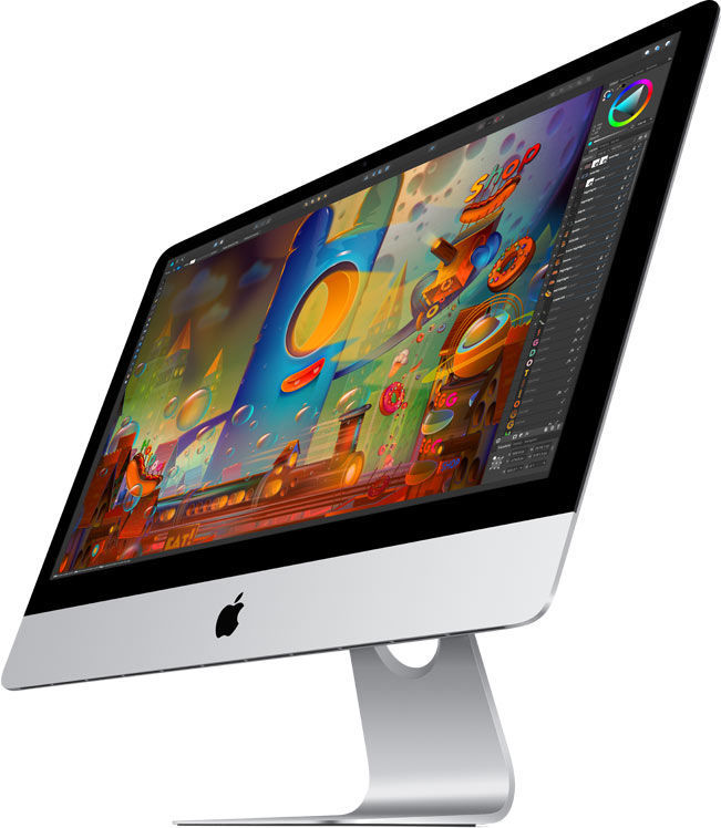 Моноблок APPLE iMac MK452RU/A, Intel Core i5 5675R, 8Гб, 1000Гб, Intel Iris Pro Graphics 6200, Mac OS X, серебристый и черный