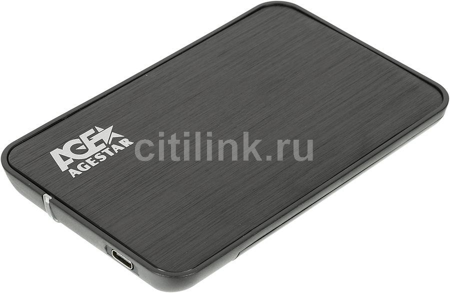Внешний корпус для  HDD/SSD AGESTAR 31UB2A8C, черный