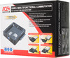 Адаптер-переходник для  HDD/SSD AGESTAR 3FBCP, черный вид 5
