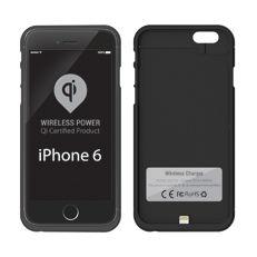 Чехол с функцией беспроводной зарядки UPVEL UQ-CI6 STINGRAY, для Apple iPhone 6/6S, черный