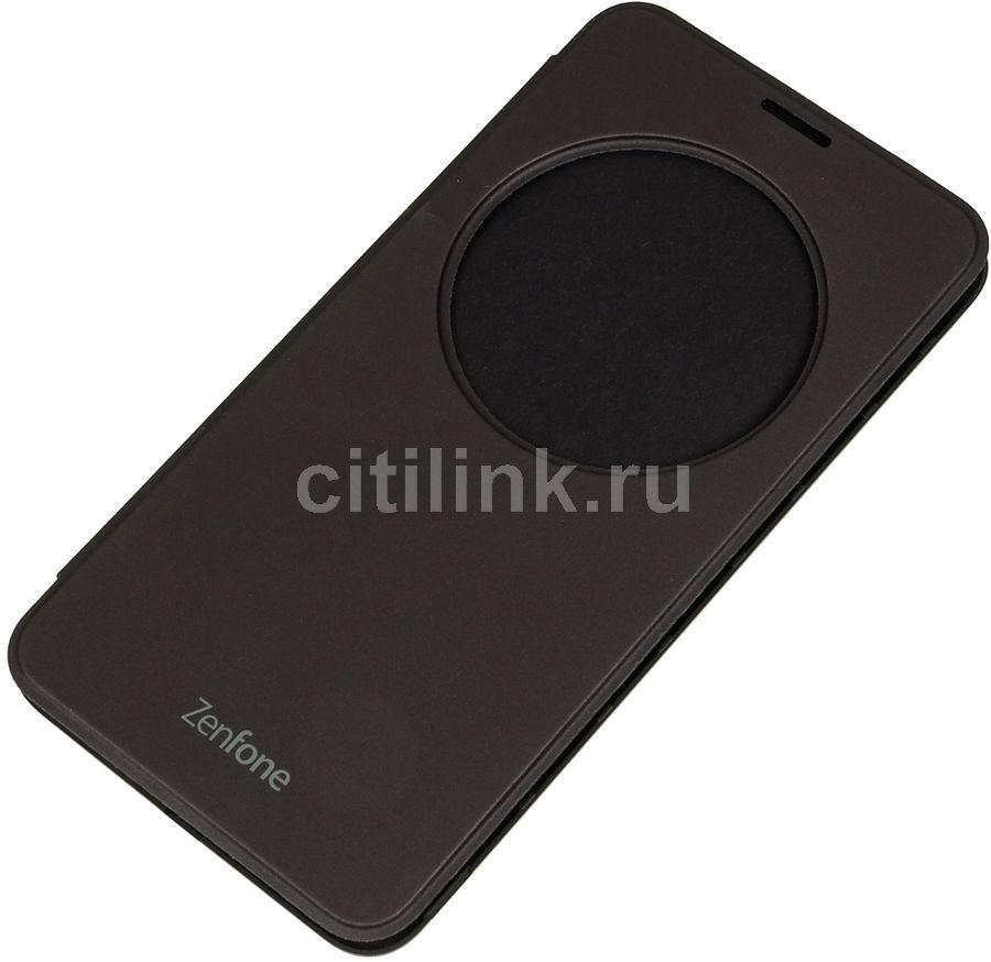 Чехол (флип-кейс) ASUS View Flip Cover, для Asus ZenFone Laser ZE600/601KL, серебристый [90ac00w0-bcv001]