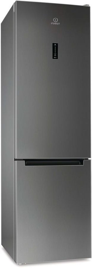 Холодильник INDESIT DF 5201 X RM,  двухкамерный, нержавеющая сталь