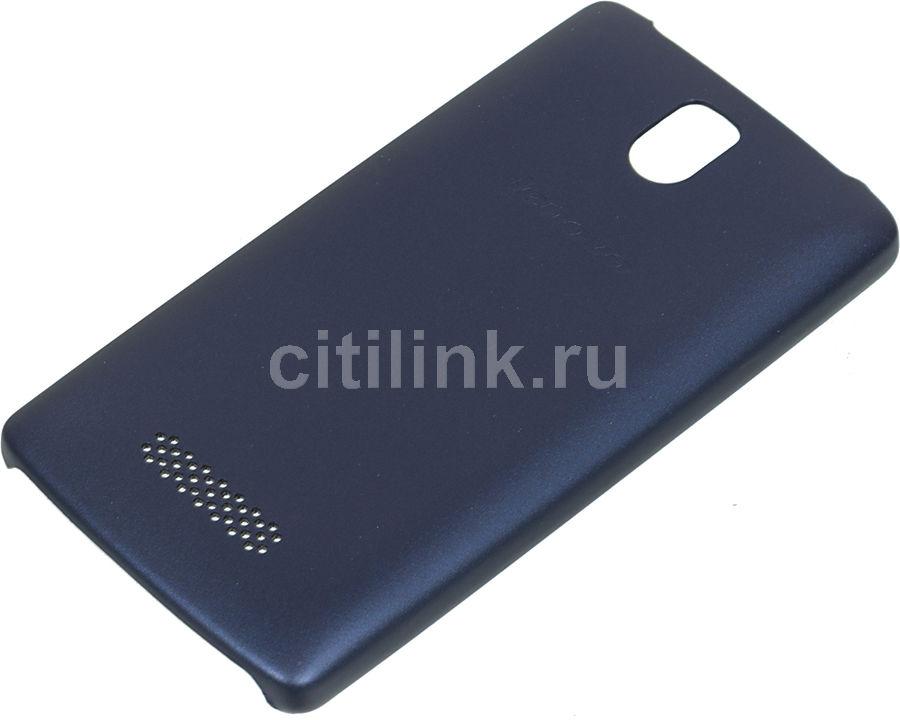 Чехол (клип-кейс) LENOVO Back Cover, для Lenovo A2010, темно-синий [pg38c00614]