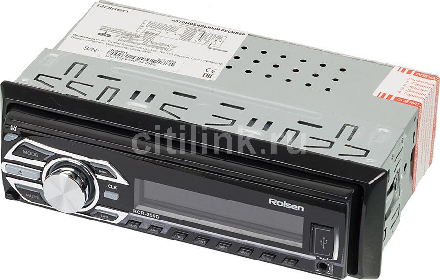 Автомагнитола ROLSEN RCR-255G,  USB,  SD/MMC
