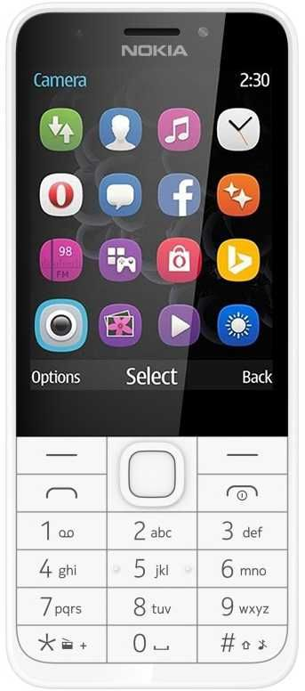 Мобильный телефон NOKIA 230 Dual Sim белый