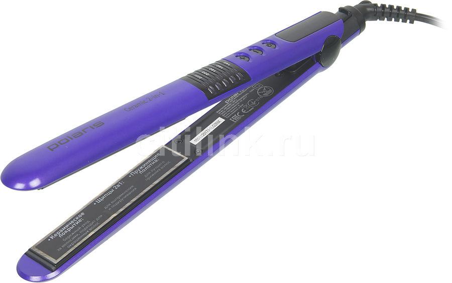 Выпрямитель для волос POLARIS PHS 2405K,  фиолетовый [phs2405k]