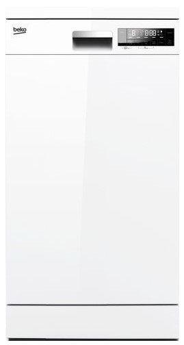 Посудомоечная машина BEKO DFS 26010 W,  узкая, белая