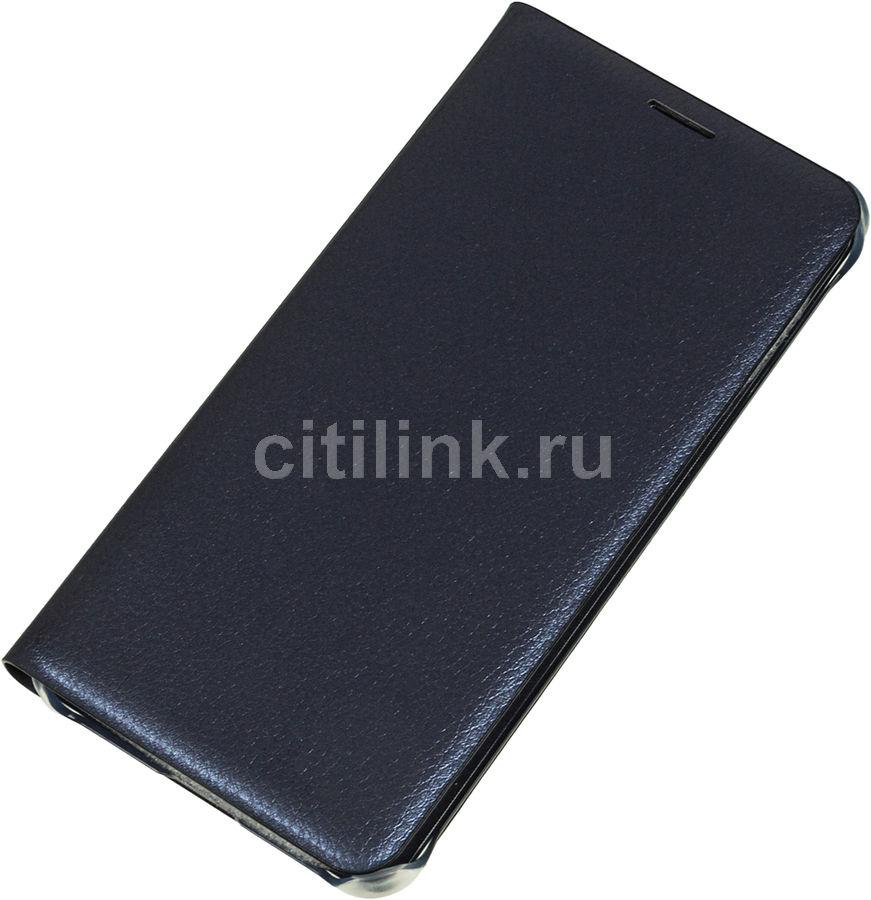 Чехол (клип-кейс) SAMSUNG Flip Wallet, для Samsung Galaxy A7 (2016), черный [ef-wa710pbegru]