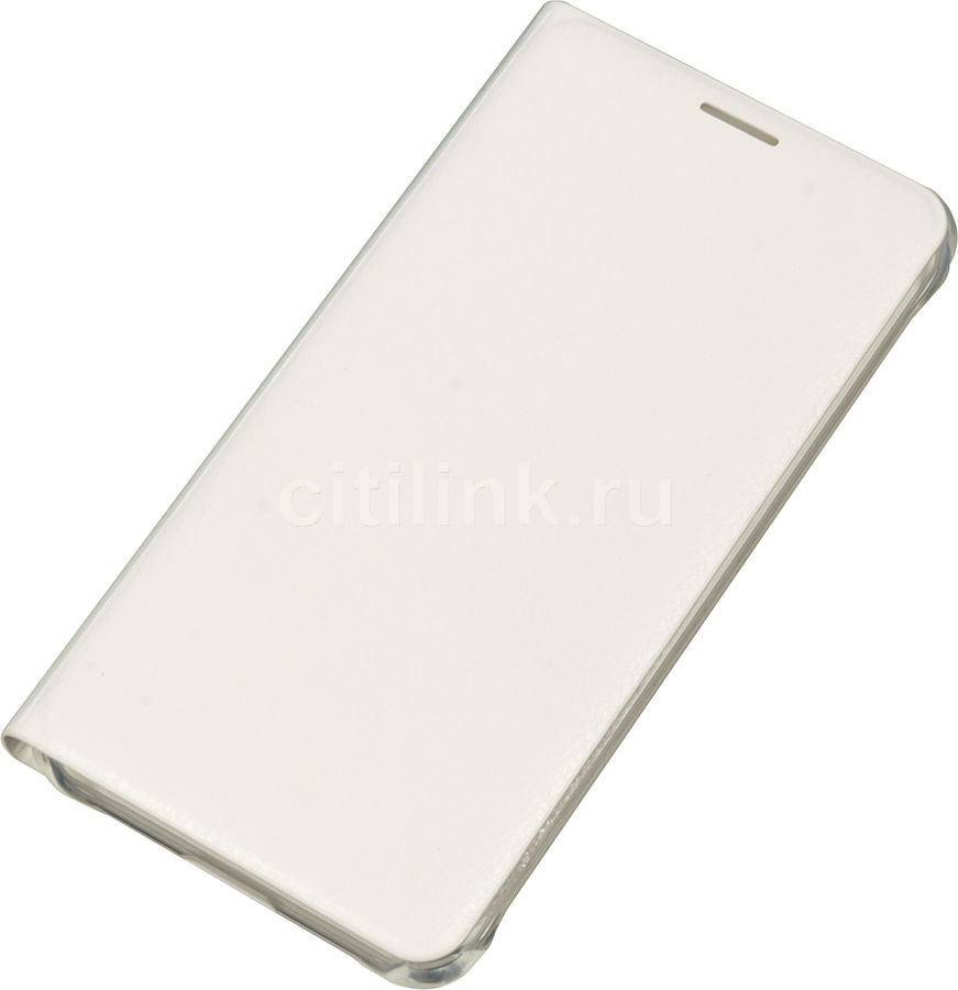 Чехол (флип-кейс) SAMSUNG Flip Wallet, для Samsung Galaxy A5 (2016), белый [ef-wa510pwegru]