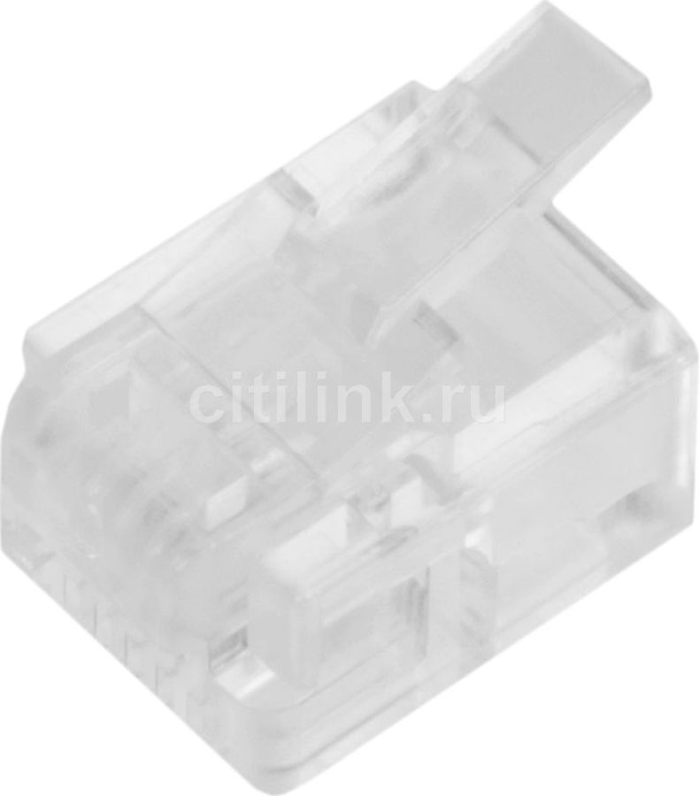 Коннектор медный Lanmaster (TWT-PL12-6P4C/100) UTP RJ12 натуральный dvp40ec00t3 delta plc ec3 series 100 240vac 24di 24do new original transistor output