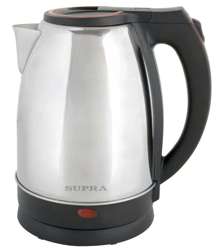 Чайник электрический SUPRA KES-2231, 2200Вт, серебристый и синий