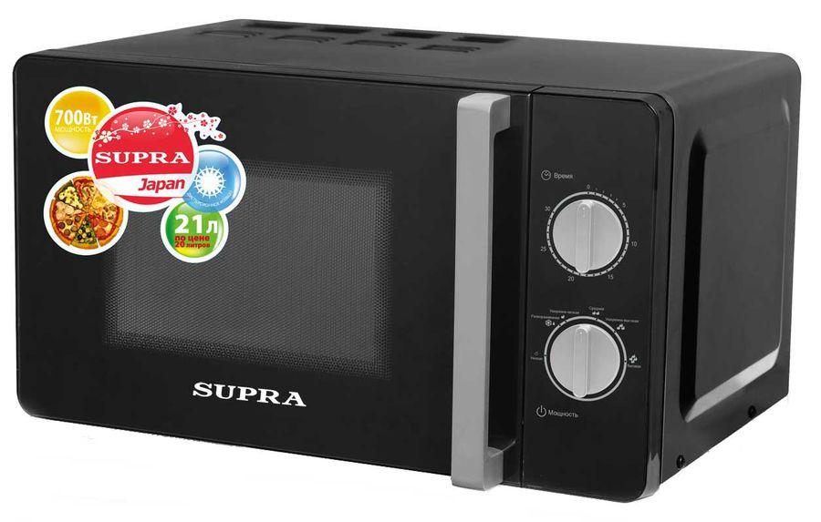 Микроволновая печь SUPRA MWS-2103MB, черный