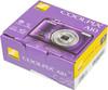 Цифровой фотоаппарат NIKON CoolPix A10,  фиолетовый/ рисунок вид 10