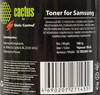 Тонер CACTUS CS-TRSUNIV-160,  для Samsung 1610/2010/SCX-4100/4200 (SCC),  черный, 160грамм, флакон вид 2