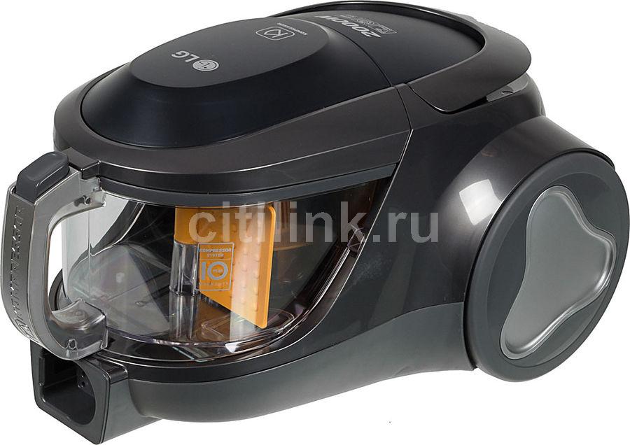 Пылесос LG VK76W02HY, 2000Вт, серебристый/серый