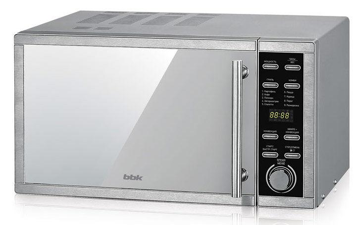 Микроволновая печь BBK 25MWC-990T/S-M, серебристый