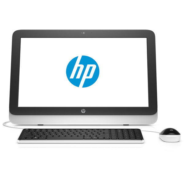 Моноблок HP 22-3103ur, Intel Core i3 4170t, 4Гб, 1000Гб, Intel HD Graphics 4400, DVD-RW, Windows 10, черный и белый [n8w40ea]