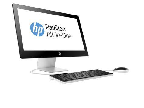 Моноблок HP Pavilion 23-q201ur, Intel Core i3 6100T, 4Гб, 1000Гб, Intel HD Graphics 530, DVD-RW, Windows 10 Home, белый [v2f84ea]