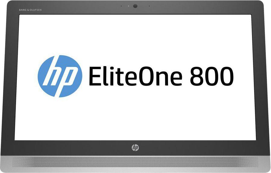 Моноблок HP EliteOne 800 G2, Intel Core i3 6100, 4Гб, 500Гб, Intel HD Graphics 530, DVD-RW, Free DOS, черный [v6k49ea]