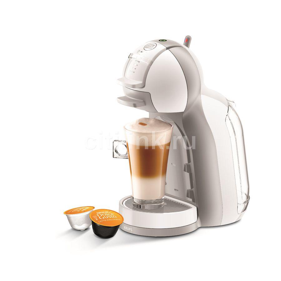 Капсульная кофеварка KRUPS Dolce Gusto KP120110, 1500Вт, цвет: белый [8000035836]
