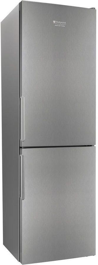Холодильник HOTPOINT-ARISTON HF 4181 X,  двухкамерный, нержавеющая сталь