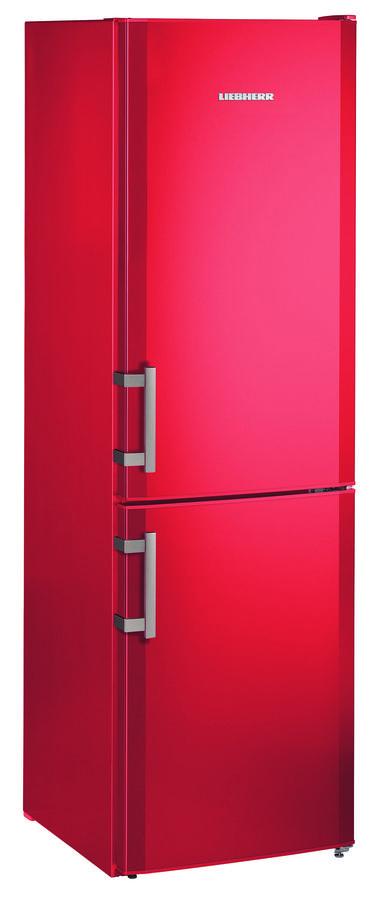 Холодильник LIEBHERR CUfr 3311,  двухкамерный,  красный