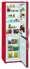 Холодильник LIEBHERR CUfr 3311,  двухкамерный,  красный вид 5