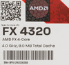 Процессор AMD FX 4320, SocketAM3+ BOX [fd4320wmhkbox] вид 9