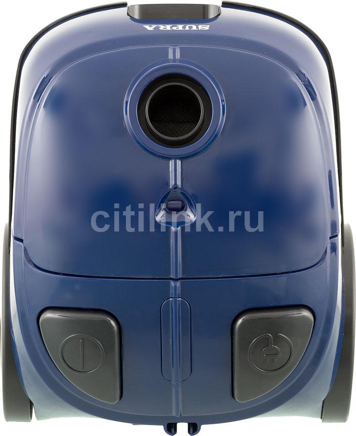 Пылесос SUPRA VCS-1602, 1600Вт, синий