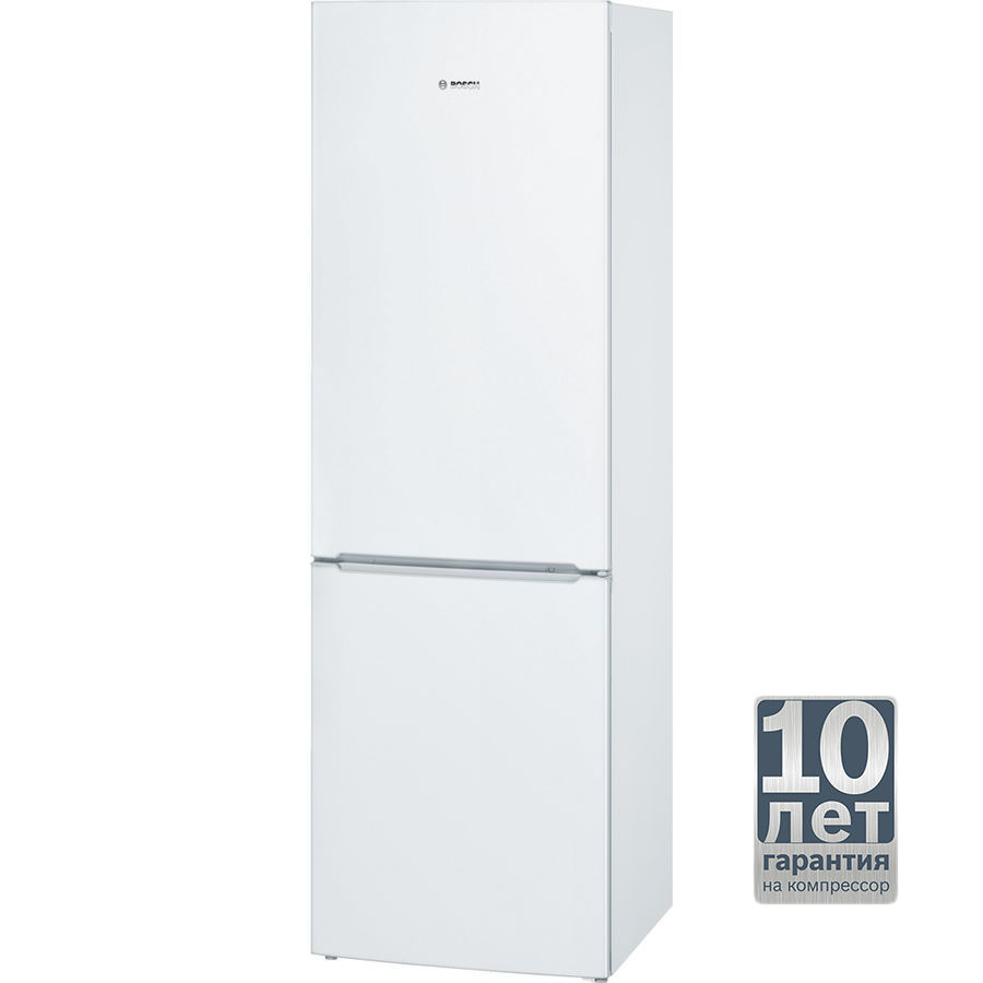 Холодильник BOSCH KGN36NW13R,  двухкамерный,  белый