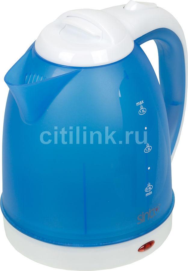 Чайник электрический SINBO SK 7355, 2200Вт, синий