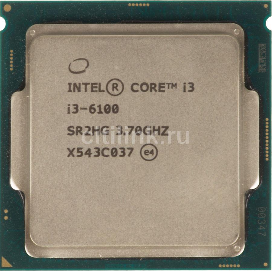 Процессор INTEL Core i3 6100, LGA 1151,  OEM