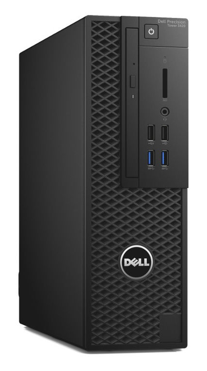 Компьютер  DELL Precision T3420,  Intel  Xeon  E3-1240 v5,  DDR4 8Гб, 256Гб(SSD),  nVIDIA Quadro K620 - 2048 Мб,  DVD-RW,  Windows 7 Professional,  черный [3420-0080]