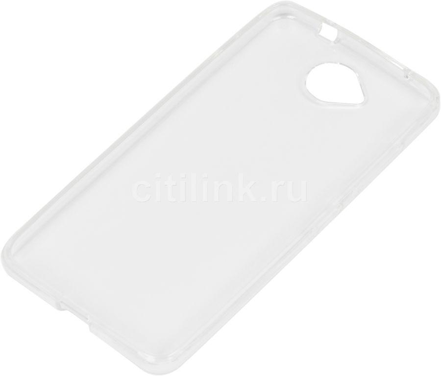 Чехол (клип-кейс) REDLINE iBox Crystal, для Microsoft Lumia 650, прозрачный [ут000008212]