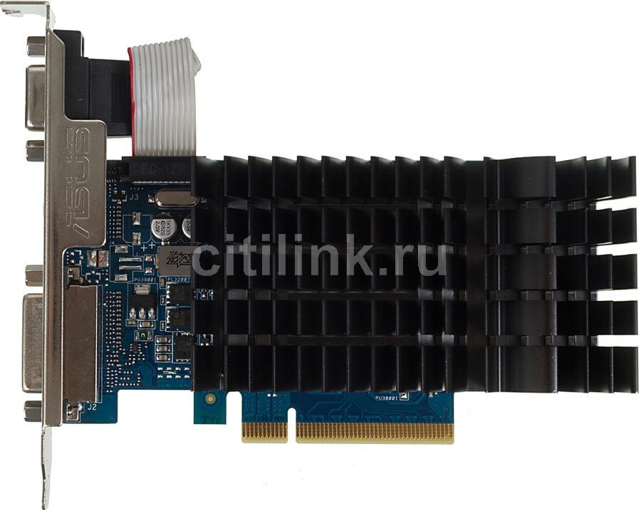 Видеокарта ASUS nVidia  GeForce GT 710 ,  710-2-SL,  2Гб, DDR3, Ret