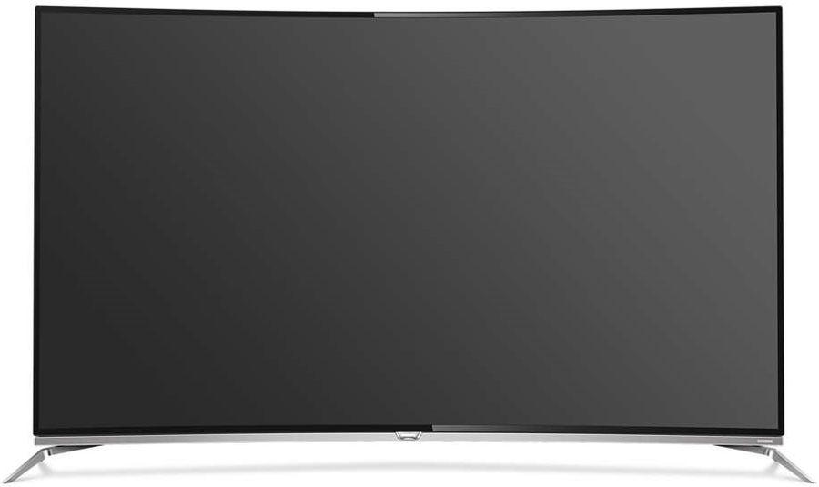 "LED телевизор PHILIPS 55PUS8700/60  ""R"", 55"", 3D,  Ultra HD 4K (2160p),  черный/ серебристый"