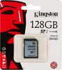 Карта памяти SDXC UHS-I KINGSTON 128 ГБ, 45 МБ/с, Class 10, SD10VG2/128GB,  1 шт. вид 1