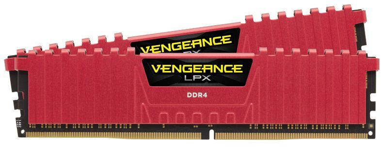 Модуль памяти CORSAIR Vengeance LPX CMK16GX4M2B3466C16R DDR4 -  2x 8Гб 3466, DIMM,  Ret