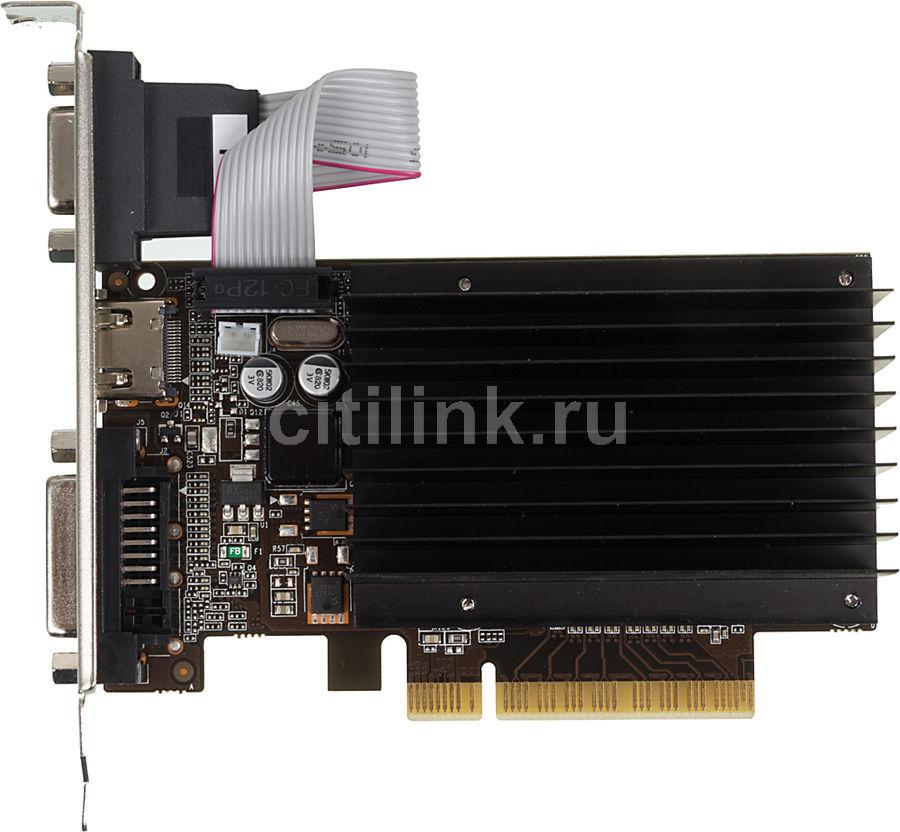Видеокарта PALIT nVidia  GeForce GT 710 ,  PA-GT710-2GD3H,  2Гб, DDR3, oem [neat7100hd46-2080h bulk]