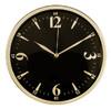 Настенные часы БЮРОКРАТ WallC-R25M, аналоговые,  черный вид 1