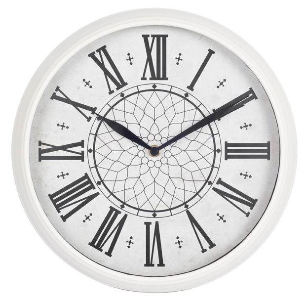Настенные часы БЮРОКРАТ WallC-R26P, аналоговые,  белый