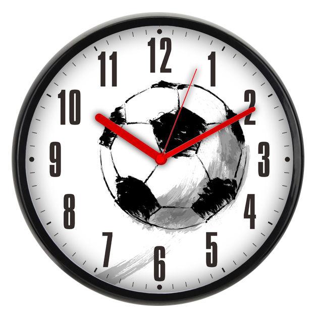 Настенные часы БЮРОКРАТ WallC-R29P, аналоговые,  черный