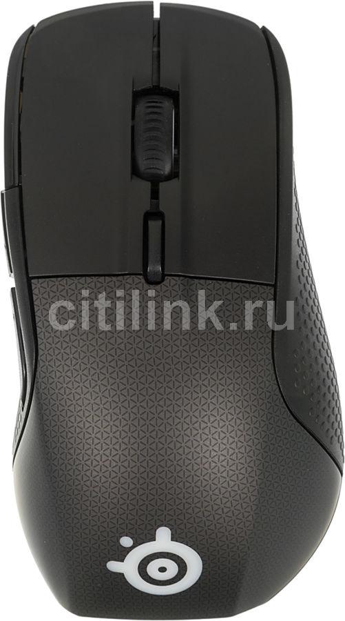 Мышь STEELSERIES Rival 700 62331 оптическая проводная USB, черный