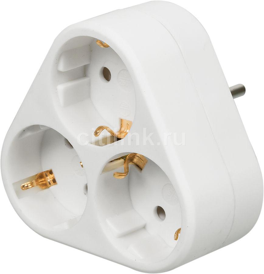 Сетевой разветвитель BURO BU-PS3VG-W, белый