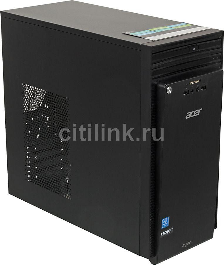 Компьютер  ACER Aspire TC-704,  Intel  Pentium  N3700,  DDR3L 4Гб, 500Гб,  Intel HD Graphics,  DVD-RW,  CR,  Windows 10 Home,  черный [dt.szfer.005]
