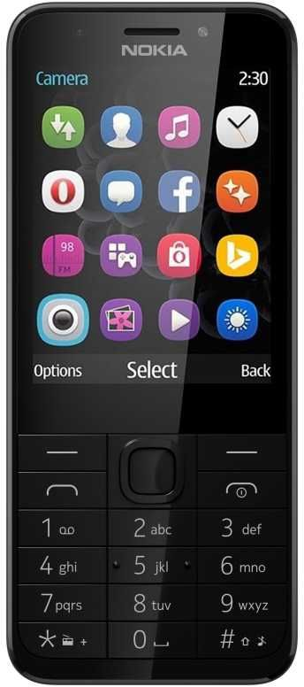 Мобильный телефон NOKIA 230 серебристый/серый