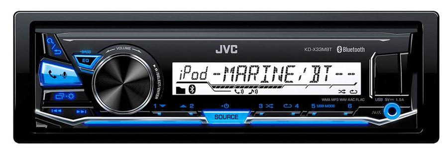 Автомагнитола JVC KD-X33MBT,  USB