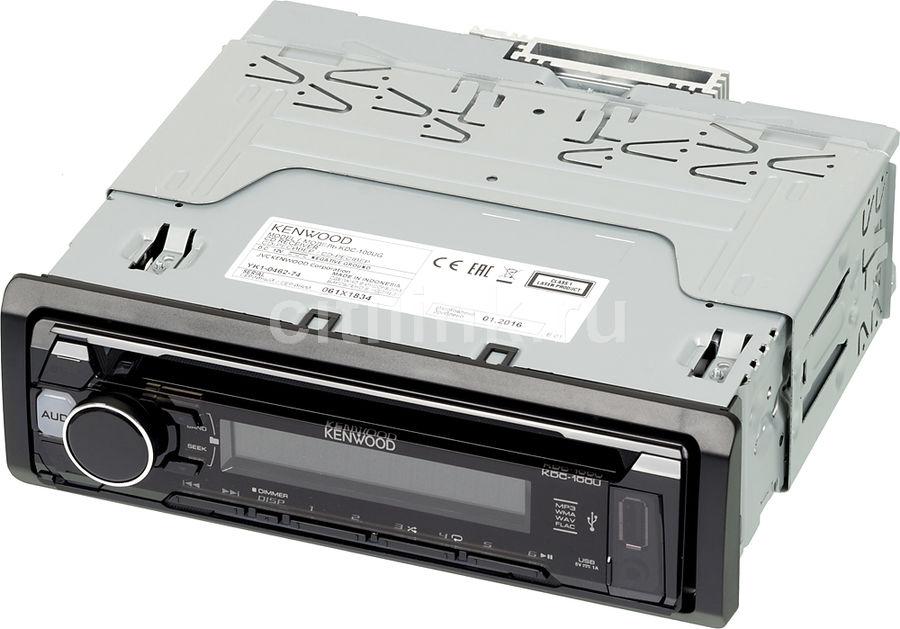 Автомагнитола KENWOOD KDC-100UG,  USB