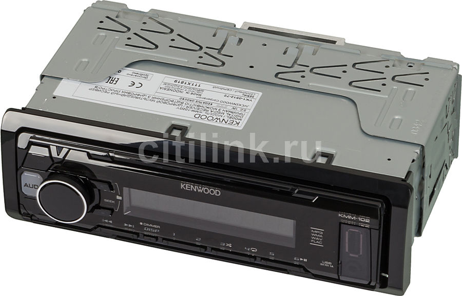 Автомагнитола KENWOOD KMM-102GY,  USB