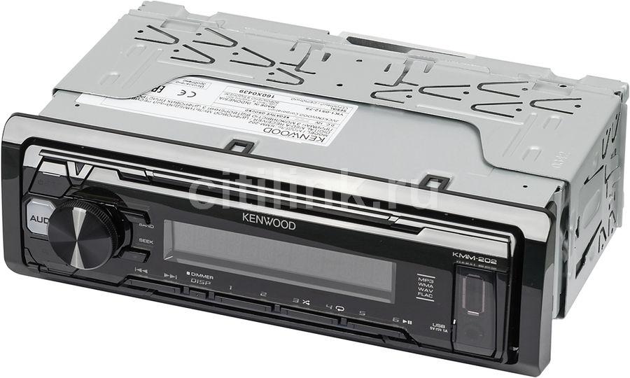 Автомагнитола KENWOOD KMM-202,  USB